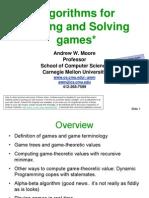Game Algorithms