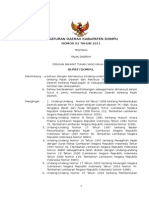 Perda Dompu No. 2 Tahun 2011 Pajak Daerah