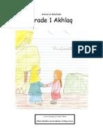 Grade 1 Akhlaq( 2nd Edition)