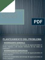 Problemática Del Drenaje de Aguas Pluviales en Zonas