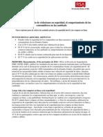 Informe RSA sobre actitudes frente a la seguridad móvil y las compras en...