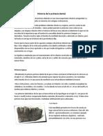 Historia de La Prótesis Dental