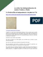 Constitucion Declaracion Enmiendas Estados Un
