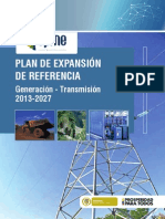 Plan Expansion Referencia 2013