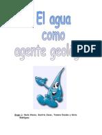 El agua como agente geológico.doc