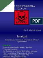 Tipos de Exposición Toxicologia