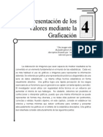 Representación de los valores mediante la grafiación