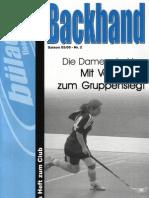 Backhand 2005/2006 Nr. 2