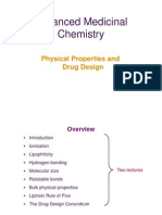 Physico-chemical Properties of a Drug