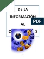 De La Informacion Al Conocimiento Scrib Archivo 74 Hojas