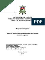 Proyecto de Investigacion... Metodologia