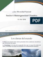 Sesión 05 - Diversidad Climática