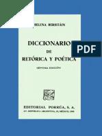 Diccionario de Retórica y Poética