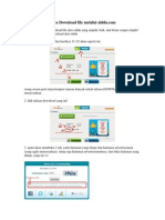 1. Cara Download file melalui ziddu.pdf