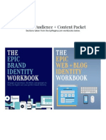 Website Audience and Content Packet WP Class