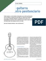 TALLER de Guitarra en Un Centro Penitenciario