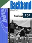 Backhand 2006/2007 Nr. 1