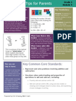 eureka math-tips for parents-grade 2 module 4