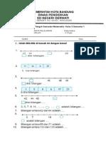 Soal UTS MATEMATIKA Kelas 3 Semester 1 (1)