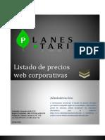 Precios de Páginas Web / Bogotá, Colombia y América Latina
