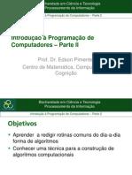 Introdução à Programação de Computadores-parte2