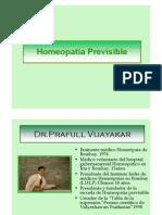 Homeopatía previsible presentación