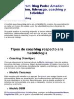 Comunicacion, Liderazgo, Coaching y Felicidad