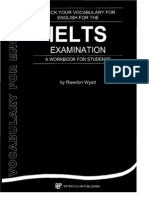 Check Your Vocabulary for IELTS Examination - Wyatt