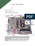 Partes internas del conputador