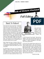 2014 Fall Newsletter