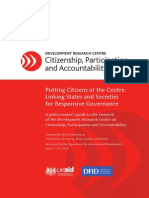 Citizenship DRC Policy Findings Paper 2010