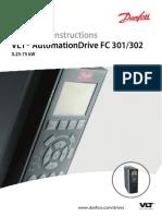 Manual Danfoss FC302