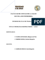 INFORME N° 1 SALUD FAMILIAR