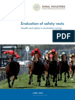 Evaluation of Safety Vests - Health and Safety in Australian Racing