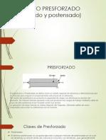 CONCRETO PRESFORZADO (Pretensado y Postensado)