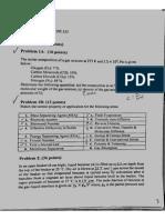 Mass transfer Exam 1 (2013)
