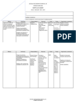 Objetivos Estrategicos de Mejora 2014 - 2015