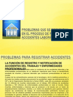 Problemas Registro Accidentes