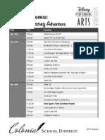 disney itinerary updated 2014 11 19