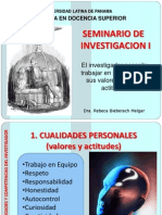 1cualidadesdelinvestigador-mds-110304141312-phpapp01.ppt