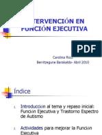 Intervencion en Funcion Ejecutiva.carolina Ricci