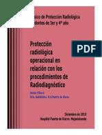 Aspectos de Protecci-n Radiol-gica en Radiodiagn-stico