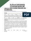 Utilización de Un Instrumento Ad Hoc en La Preservación Del Capital Óseo Crestal Durante Las Exodoncias