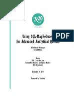 Using SQL - MapReduce for Advanced Analytics