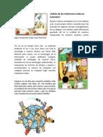 Sabias de Las Tradiciones Orales en Colombia