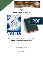 Filosofia y Teoria de La Musica