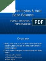 Fluid & Electolytes Patho