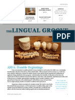 The Lingual Groove - Fall 2014