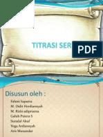 TITRASI SERIMETRI PPT