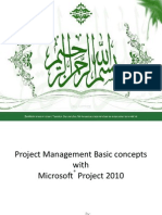MS Project With Project Management Basics